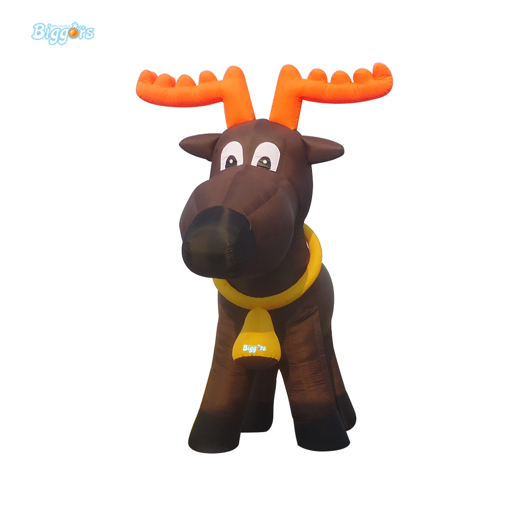 Biggots Large lowes outdoor lovely inflatable dog for Christmas with factory price best price 5pin cable for outdoor printer