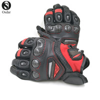 Hot sales of motorcycle racing knight leather gloves RST 417 bicycle motorcycle can touch screen gloves, protective gloves