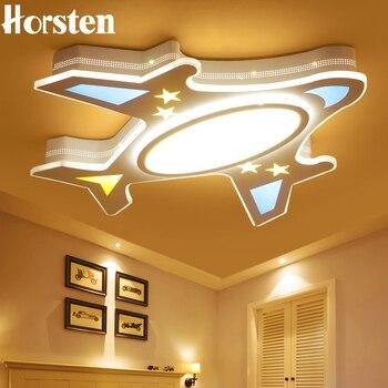 Horsten, современный акриловый светодиодный потолочный светильник для маленьких детей, детская комната, плафон, потолочный светильник для спа...