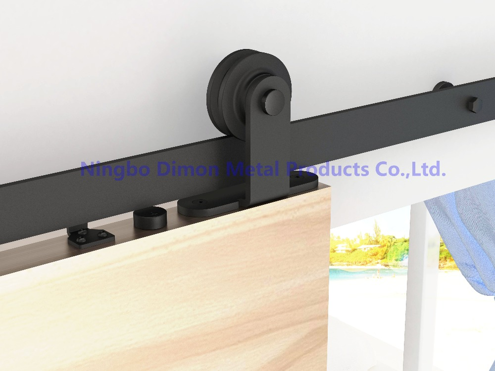 Free Shipping Dimon High Quality Wood Inner Sliding Door Hardware DM-SDU 7202 With Soft Closing (without Sliding Rail)