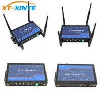 USR G800 A 4G Промышленные LTE vpn маршрутизатор с RS232 интерфейс Беспроводная 802,11 b/g/n