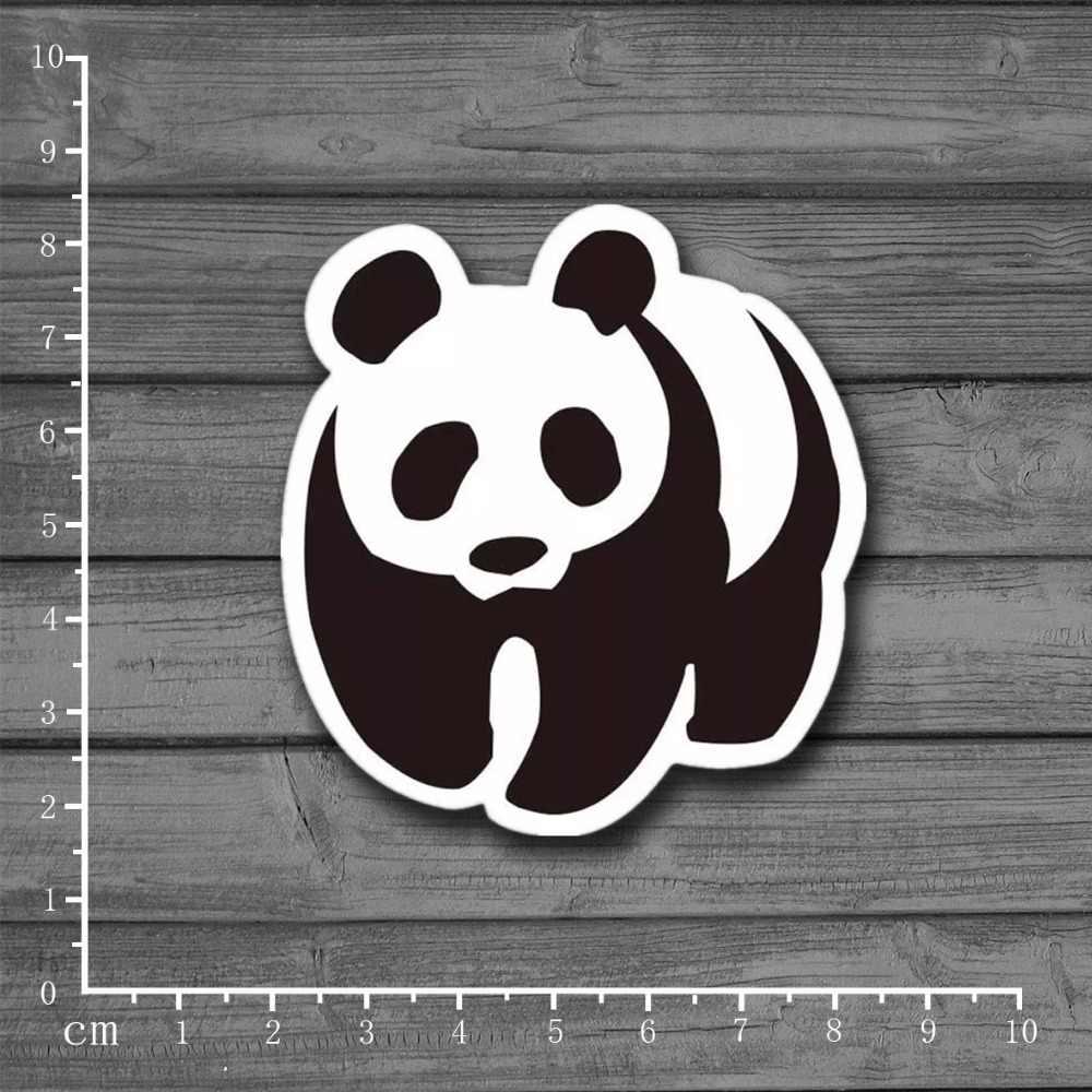 Etiqueta engomada del Panda del logotipo de WWF para el juguete chico en el coche portátil equipaje nevera Skateboard Graffiti cuaderno de recortes pegatinas de PVC