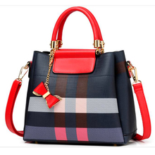 2019 New stripe Womens Handbag for Vintage Female Crossbody bags fashion Women Shoulder bag Messenger