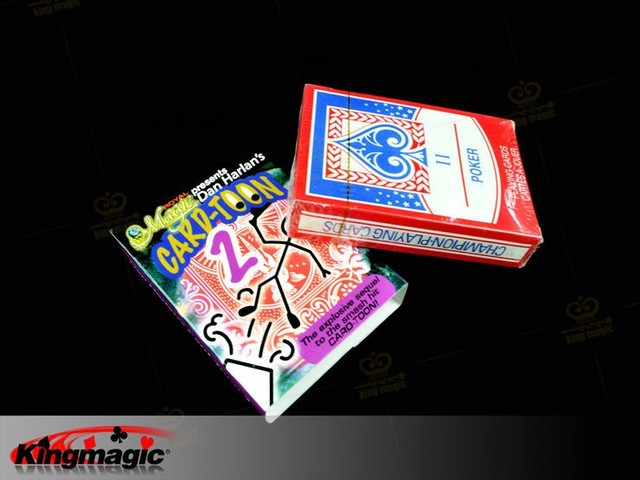 1pcs Card toon Deck Pack Playing Card.Funny  Card toon 2  Animation Prediction.Magic trick d22