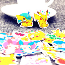 40 Pcs/Lot Mini magical animals Cute Self-made stickers scrapbooking For Cartoon Sticker For Laptop Fridge Skateboard(China)