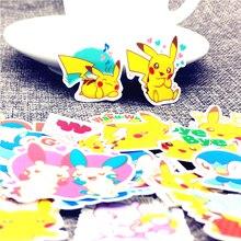 40 sztuk/partia Mini magiczne zwierzęta śliczne samoprzylepne naklejki scrapbooking dla Cartoon naklejki na lodówkę deskorolkę laptopa
