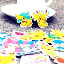 40 יח\חבילה מיני חיות קסומות חמוד מתוצרת עצמית מדבקות רעיונות עבור קריקטורה מדבקת עבור מחשב נייד מקרר סקייטבורד