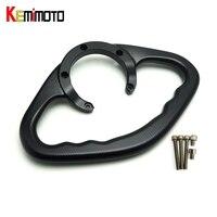 KEMiMOTO YZF R1 R6 FZ MT 09 Accessories CNC Passenger Handgrips Hand Grip Tank Grab Bar Handles Armrest For Yamaha MT 09 MT09