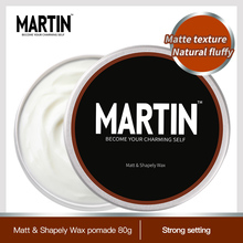 Professional Fashion Hair Mud Pomade Strong styling hair wax mens pomade недорого
