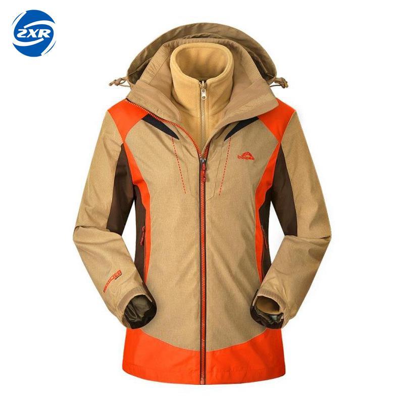 Outdoor Waterproof Hooded Softshell Jacket Women Winter Thermal Tech Fleece Hiking Clothing Ski Fishing Climbing Coat