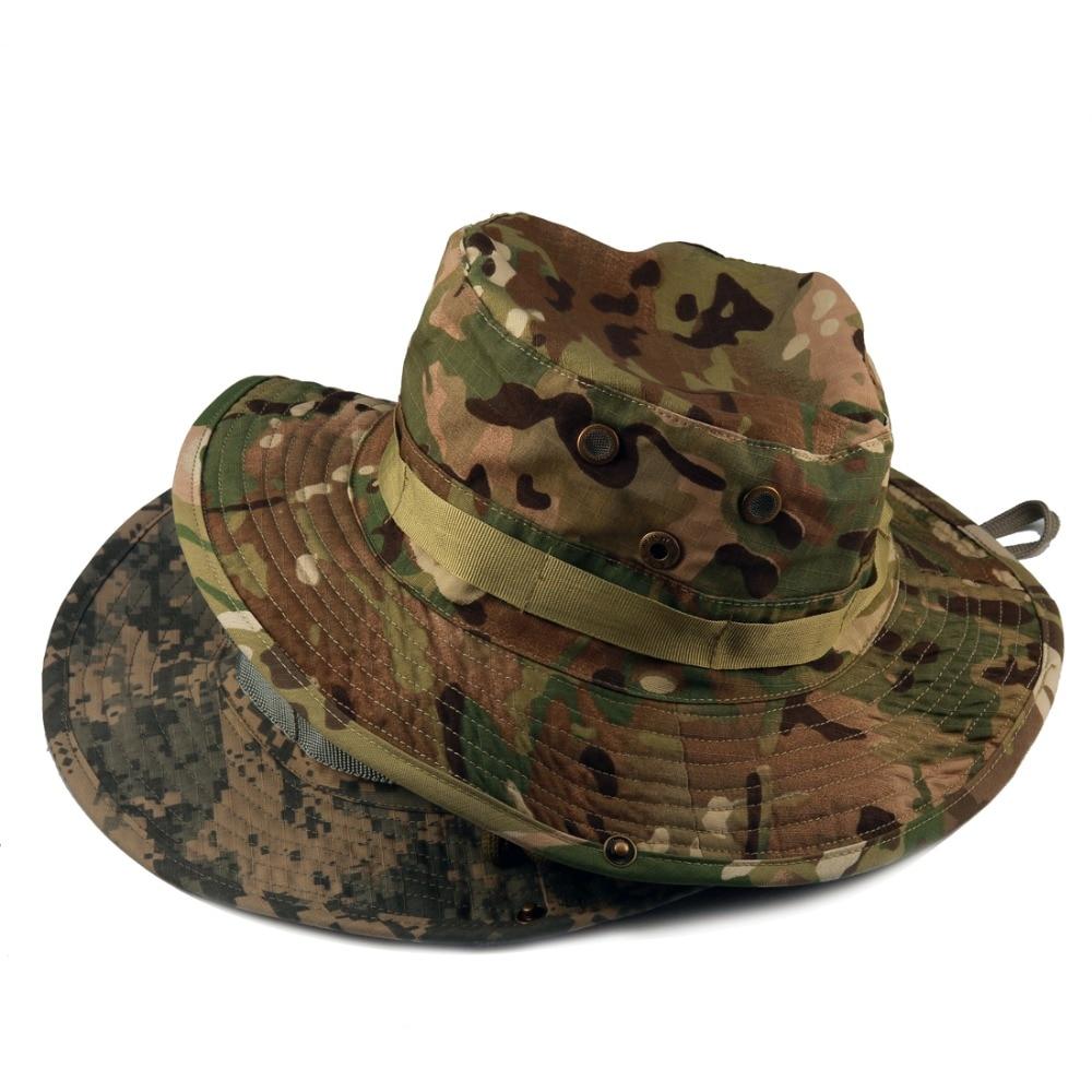 Unisex Sombreros de pesca al aire libre Militar camuflaje CAMO ...