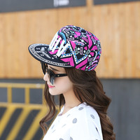 Fashion Pattern Snapback Caps Parent child Hat Children Baseball Caps For Boys Girls Sun Hip Hop Caps Summer Hat