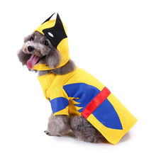 Funny sport winter dog clothes with hat cool pet dog costume suit puppy polyester halloween costumes for dogs yorkie Poodle(China)