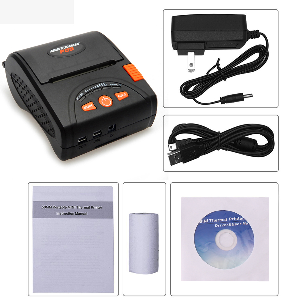 IMP001 New Arrival! Free SDK 58mm Handheld Pos Printer Android iOS Bluetooth4.0 thermal printer Receipt Mobile Protable Printer effect of drying methods on biochemical composition of black tea