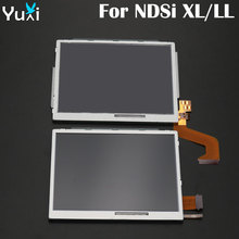 цена на YuXi Top Upper and Bottom Lower LCD Display Screen Replacement Part For Nintendo DSi For NDSi XL LL