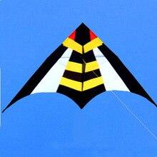 Высокое качество большой delta воздушный змей Летающий ОСА нейлоновый змей специального плетения катушка парашют воздушный змей pipa voadora vlieger eagle