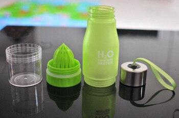 Xmas Gift 650ml Infuser Water Bottle Plastic Fruit Infusion Kids Drink Outdoor Sports Bottle Juice Lemon Portable Kettle 6