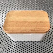 Держатель для масляной посуды герметичный Хранитель масла кухонный ящик для хранения с крышкой 2 размера на выбор