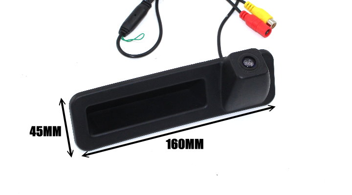 Liislee Car Rear View For BMW 3 Series F34 2018 Trunk Handle Camera  Reverse Parking Back Camera  Guide Line  Night Vision SIZe