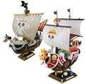 Аниме одна часть тысяча солнечный собирается веселая пиратский корабль собрать модель розничной коробке пвх лодки фигурки детей коллекционная игрушка
