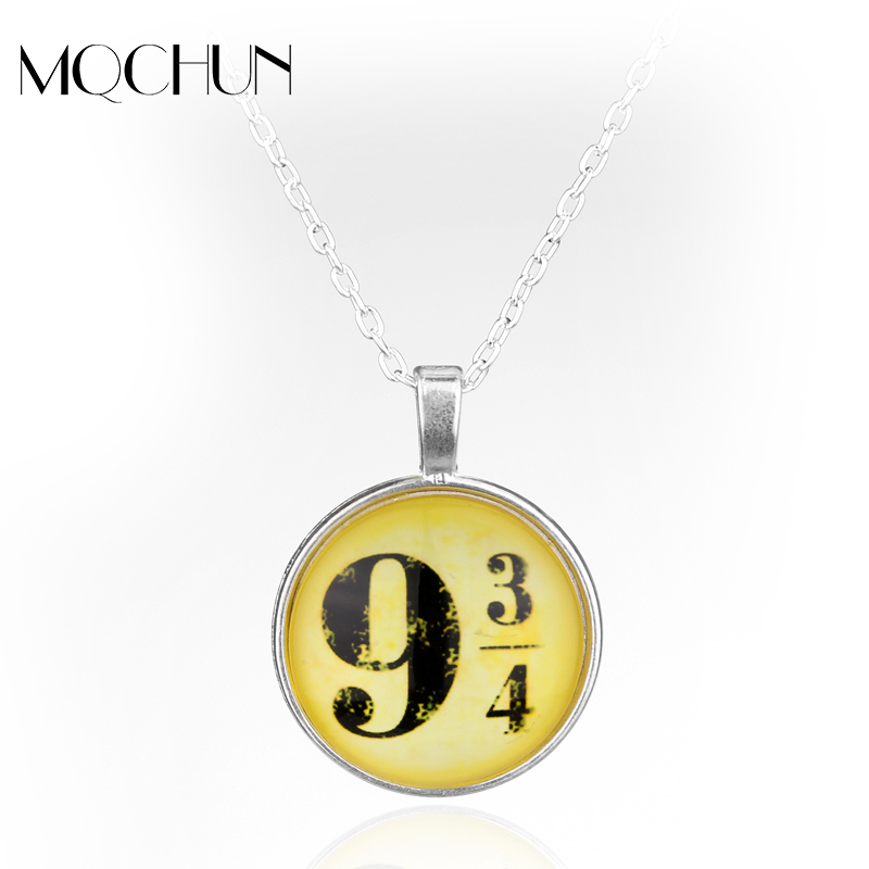 Hot Movie Harry Magic 934 Pendant Jewelry Fashion Glass Cabochon Necklace For Women/Men Christmas Gifts