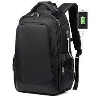 Men Travel Breathable Backpack Large Capacity Teenager Male Mochila Back Bag USB Charging Laptop Backpack