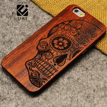 New Brand Thin Luxury Bamboo Wood Phone Case For Iphone 5 5S 6 6S 6Plus 6S