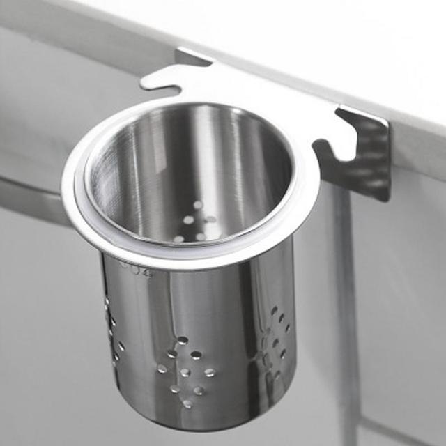 2018 New Hot Sales Stainless Steel Chopsticks Tube Tableware Storage Rack  Drain Rack Shovel Spoon Bucket