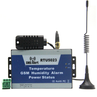 Quad Band GSM SMS Environment Alarm Remotely Monitoring Onsite Temperature Humidity Sensor Power Status By Wireless