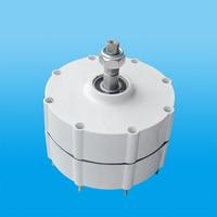 Low rpm 3 phase AC output generator 500w 12v/24/48v permanent magnet generator