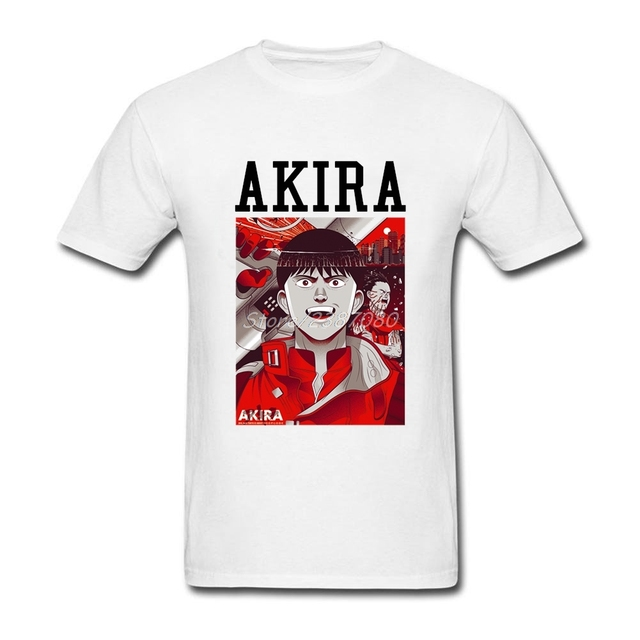 Akira T Shirt Cotton Crewneck Short Sleeve Clothes Pop pp XXXL Men s Shirts 4ec0abd6e3be