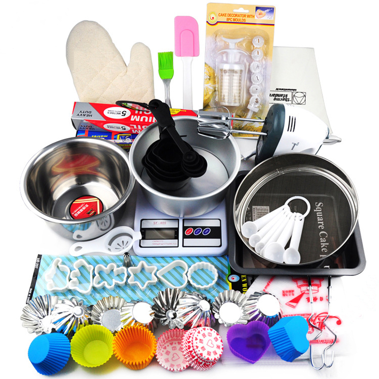 Luyou 25 pcs/set kinds of baking DIY West Point tools suite baking mold suit tyro cake biscuits mold Baking essential tool ct032