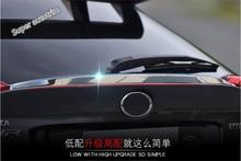 Lapetus For Toyota C-HR CHR 2016 2017 2018 2019 ABS Chrome Rear Door Tailgate Spoiler Strip Lid Cover Trim