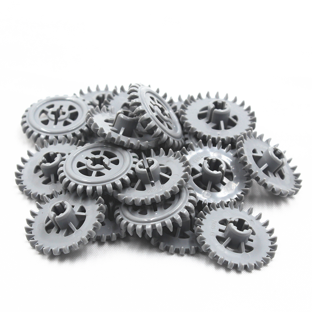 Self-Locking Bricks Free Creation Of Toy Technic CROWN- AND GEAR WHEEL Z24 20Pcs Compatible With Lego