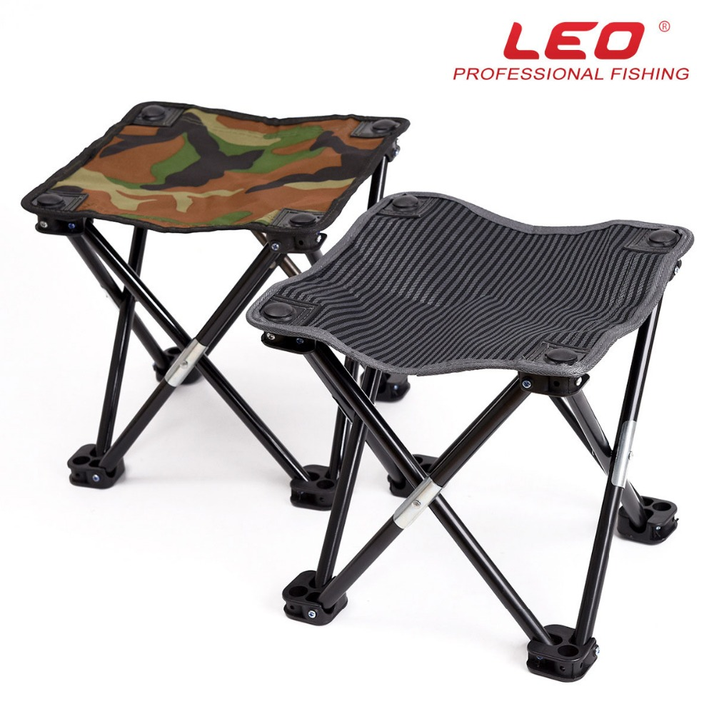Portable Stool Us 43 26 Camouflage Shrink Folding Stool Leisure Fishing Stool Portable Stool Fishing Chairs Leo26048 In Fishing Chairs From Sports Entertainment