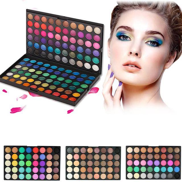 120 Colors Eyeshadow Palette Cosmetics Makeup 3 Layers Eye Shadow