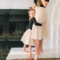 Mother And Daughter Skirts Tutu Jupe Femme 2 Pieces Tulle Skirt Women And Girl Midi Skirt Custom