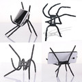 Universal Spider Phone Holder For Samsung Flexible Car Bicyle Holder For Iphone 6 Plus 5s Stand Support Mobile Cell Phone Holder