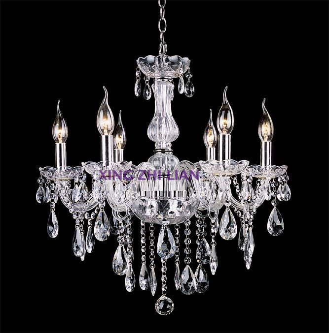 Special candle crystal chandelier crystal lamp modern minimalist living room European-style bedroom hall lights project light ch