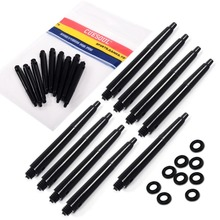 9PCS/Set Nylon Dart Shafts For Sale, 47mm, o2BA,Grove Style, Black Color, Free Shipping