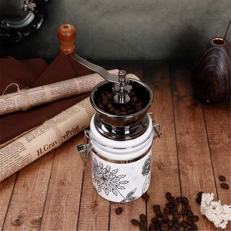 Manuelle Kaffeemühle Keramik Kern Kaffee Hand Mühle Coffeeware Kaffee Bohnen Pfeffer Spice Grinder Keramik Grinder Maschine