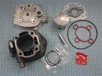 70cc Cylinder Gasket Kit With Piston Kit For Yamaha APRILIA AEROX Jog SR 50 47mm Piston