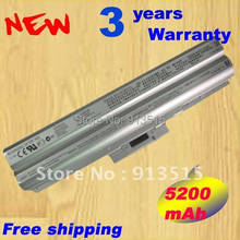Silver New Battery for SONY VGP-BPS13/S BPS13AS BPS13B/S BPS13A/S VGN-CS28 Battery(China)
