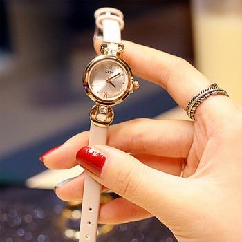 Women's Watch Luxury Casual Dresses Wrist Watches Women Creative Leather Strap Quartz Bracelet Watch Ladies Dress Watches dress watches 8 z110 15dz110 page 3