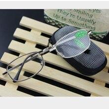 b9a0c74e71 Caliente plegable claro hombres gafas de lectura de las mujeres rejilla con Clip  de cinturón 1