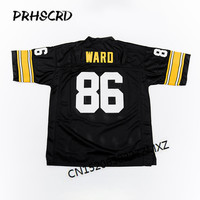Retro star #86 Hines Ward Embroidered Throwback Football Jersey