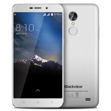 Blackview A10 אנדרואיד 7.0 3G Smartphone MT6580A Quad Core 2GB RAM 16GB ROM 5 אינץ HD טביעת אצבע 8.0MP אחורי מצלמה נייד טלפון