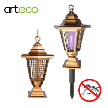 Solar powered Zapper UV solar Light Outdoor Garden Mosquito Insect Bug Killer Lantern Solar Lamp Hang or Stick in the Ground