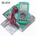 LAOA профессиональный мультиметр для ремонта авто  цифровой мультиметр с защитой от перегрузки  тест для автомобиля LA814104