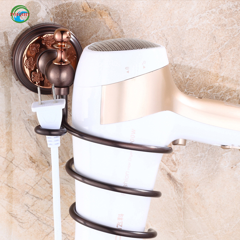 hair dryer rack wall mount